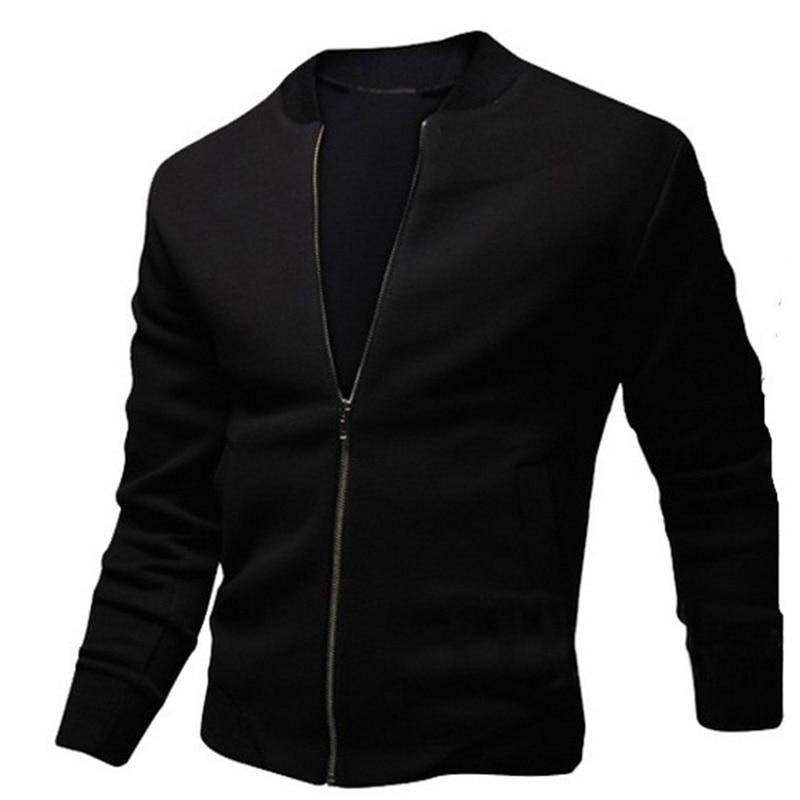 ZOGAA Spring Autumn Men's Zipper Jacket Casual Streetwear Hip Hop Slim Fit Coat Men Clothing Plus Size Mens Coats And Jackets