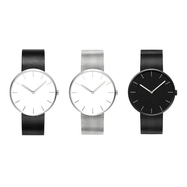 High Class Luxury Design Quartz Wrist Watch Fashion Faux Leather Band Quartz Wri