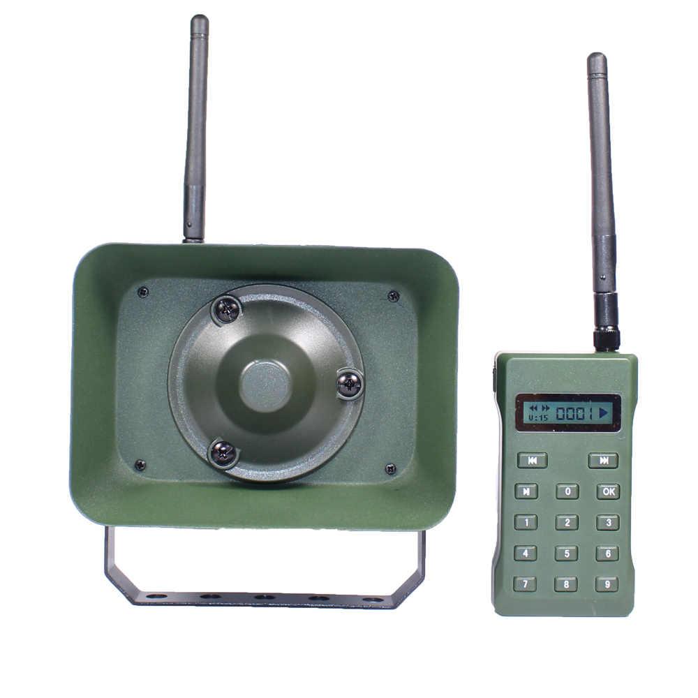 Охотничьи приманки для Утка Птица звонящий BK1523RT пульт дистанционного управления With60W динамик mp3 птица плеер влагозащищенный 323 звуки птиц