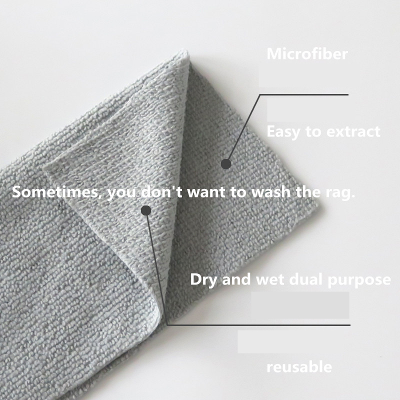 Image 4 - 20PCS Disposable kitchen towel Reusable Microfiber cloth Antibacterial table rags dishcloth Disposable wet tissue Durable firmCleaning Cloths   -