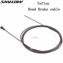 цена Teflon 1Pc Brake Cable Road Bicycle Brake Cable Core Wire Front And Rear Brake Inner Cable Line Wire онлайн в 2017 году