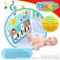 Tapete Da Música do bebê de Piano MatMultifunctional Piano Do Bebê Rack de Aptidão Macio Tapete Esteira do Jogo Música de Piano Brinquedos Educativos para crianças