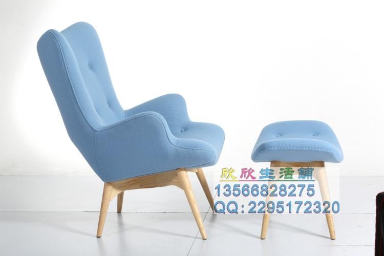 scandinave minimaliste fauteuil en bois unique salle de caf chaise ikea mode loisirs canap en tissu chaise dans chaises pour shampooing de meubles sur - Fauteuil Scandinave Ikea