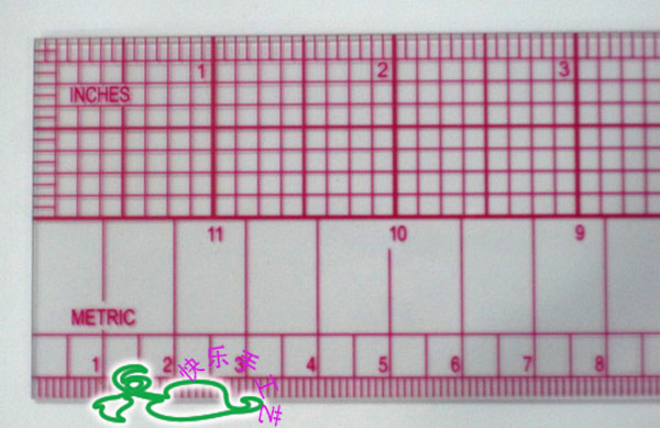 Grading Ruler Pattern Sample Tools Multifunctional Drawing Ruler Long 60cm Built-in Calibration B97