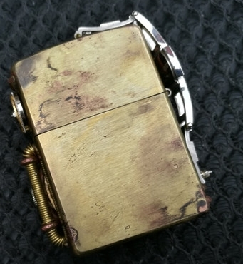Original Steampunkgearwheel Handmade Clockwork Lighter2