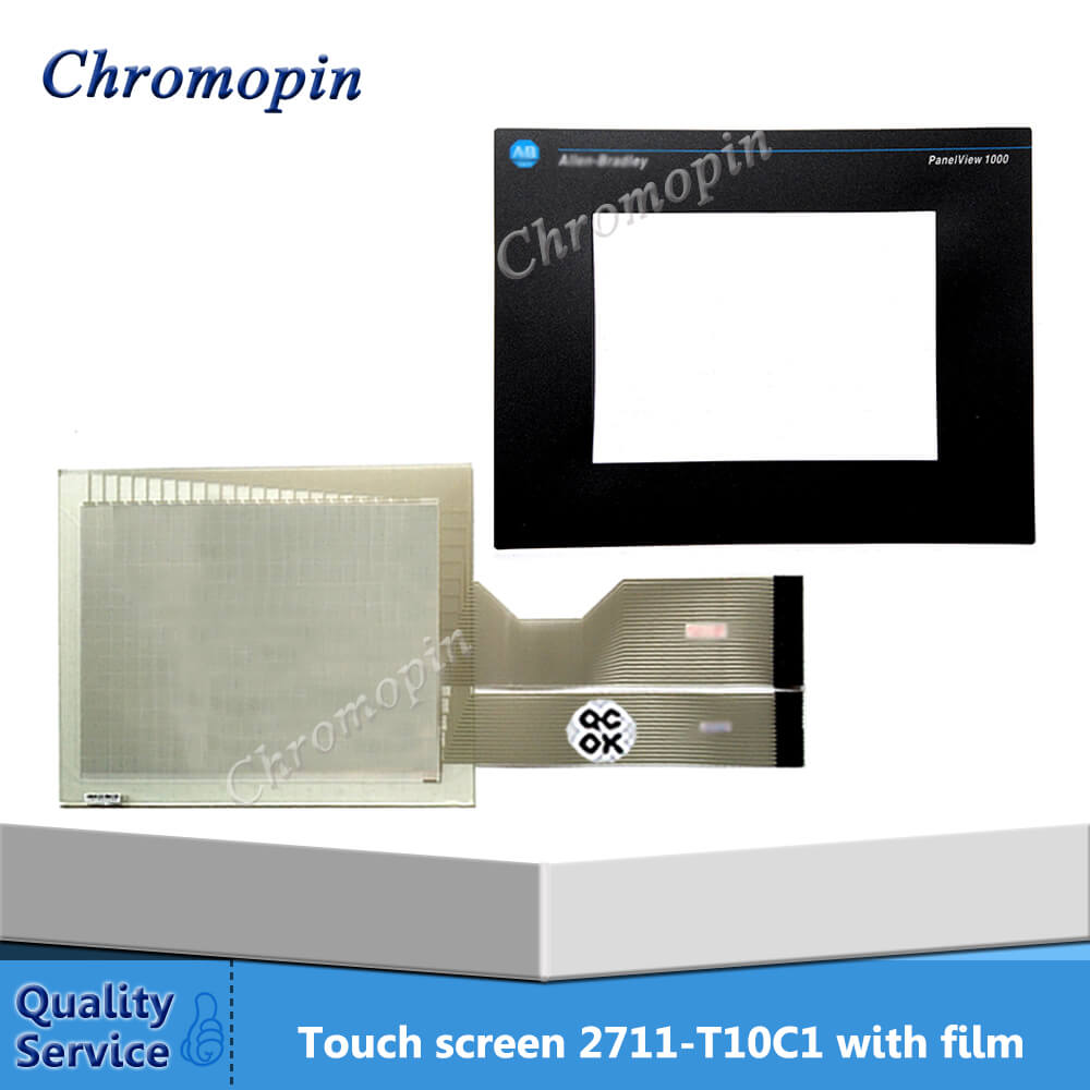 Touch panel for AB 2711-T10C1 2711-T10C1L1 2711-T10G20 2711-T10G20L1 PanelView 1000 with Protective film film mask for 2711 t5a15l1 panel 550 monochrome