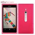 100% abrió el teléfono celular original nokia lumia 800 sistema operativo windows 16 gb 3G GPS WIFI 3.7 pulgadas de Pantalla Táctil 8MP Cámara En stock