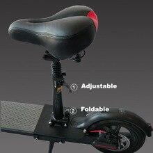 Xiaomi m365 asiento scooter eléctrico plegable amortiguador de asiento de silla cómoda silla plegable para xiaomi scooter eléctrico