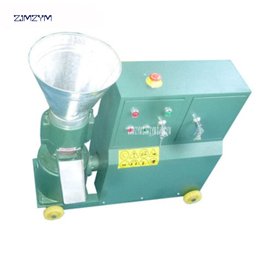 WKL120C High Quality feed pellet machine animal feed pellet machine 220v/380v mill Granulator 200~300RPM Spindle speed 2.2KW/3KW from 1 12mm molds floating fish feed pellet extruder meal making machine free sea shipping 110v 220v