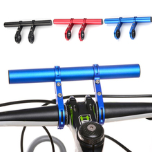 Cycling Bicycle Handlebar Extender frontlight Holder Aluminum Alloy Mountain Road Bike Extension Bracket Frame Bike Accessories origina pasak ts890 29 aluminum alloy mountain bike frame bicycle frame hurricane ultra light mtb bike 15171700g 3 colors