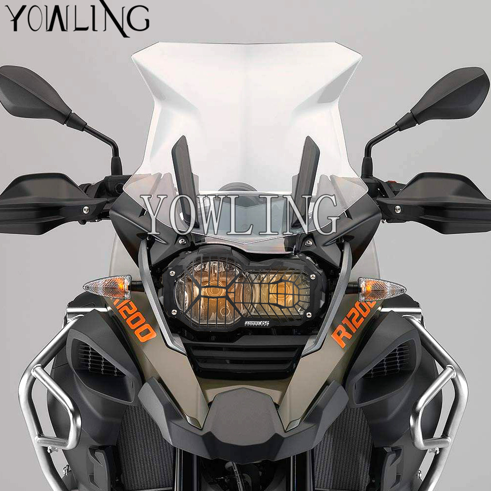 Hot Motorcycle Headlight Head light Grill Guard Cover Protector For BMW R1200GS ADVENTURE 2013 2014 2015 2016 R 1200GS 1200 GS motorcycle headlight lamp grill protector guard for bmw r 1200 gs adv adventure r 1200gs water cooled 2012 2016
