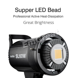 Image 2 - Godox SL 60W SL60W LED Continue Video Licht 60W CRI 95 + Wit 5600K Bowens Mount met Afstandsbediening voor Sony Fotografie