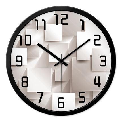 Momen 3d Feel Metal Sell Movement Wall Clock Kitchen Study Living Room Wall Clock Home Decor Saat Reloj 12 Inch Reloj Mural