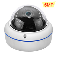 Hamrolte IP Camera 5MP 3MP 2MP Nightvision Vandal proof Waterproof Outdoor/Indoor Onvif Camera H.265 Low Storage Remote Acces