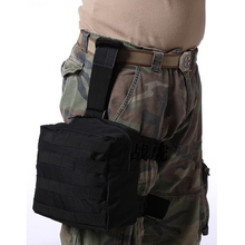 Tactical Drop Leg Pack Molle EDC Utility Gadget Gear Pouch Bag Waist B