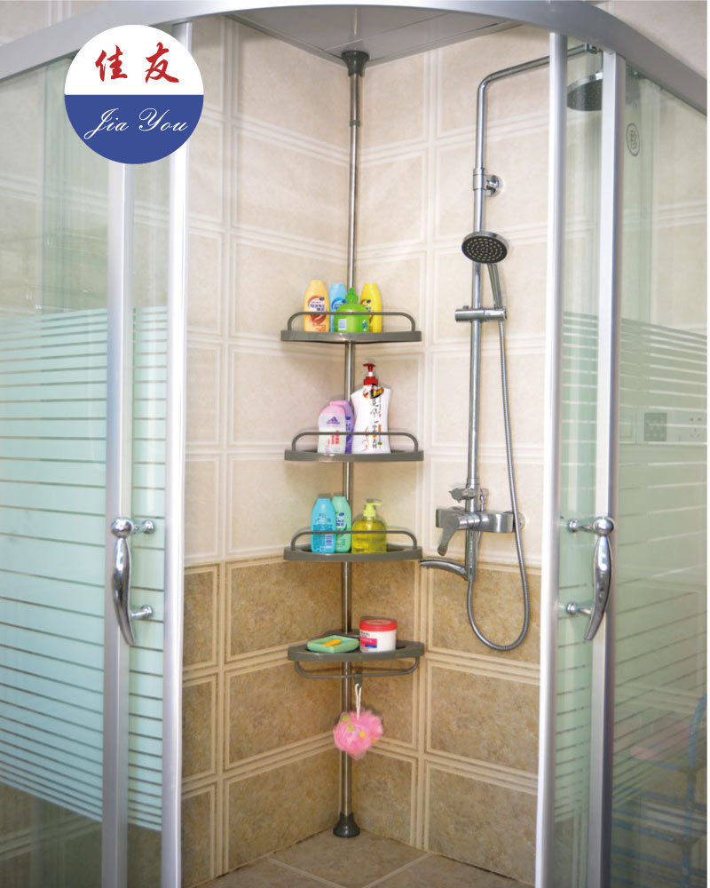 Aliexpress com   Buy JYXF 4 tier standing type bathroom corner storage rack  JYY 604D from Reliable bathroom radio suppliers on JIAYOUXIFU. Aliexpress com   Buy JYXF 4 tier standing type bathroom corner
