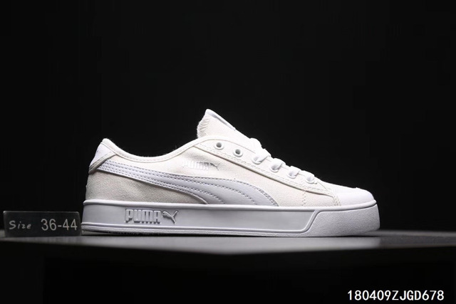 59c3914a568b 2018 brand new retro men s Puma opener SMASH V2 VULC CV canvas sports shoes  size 40-44