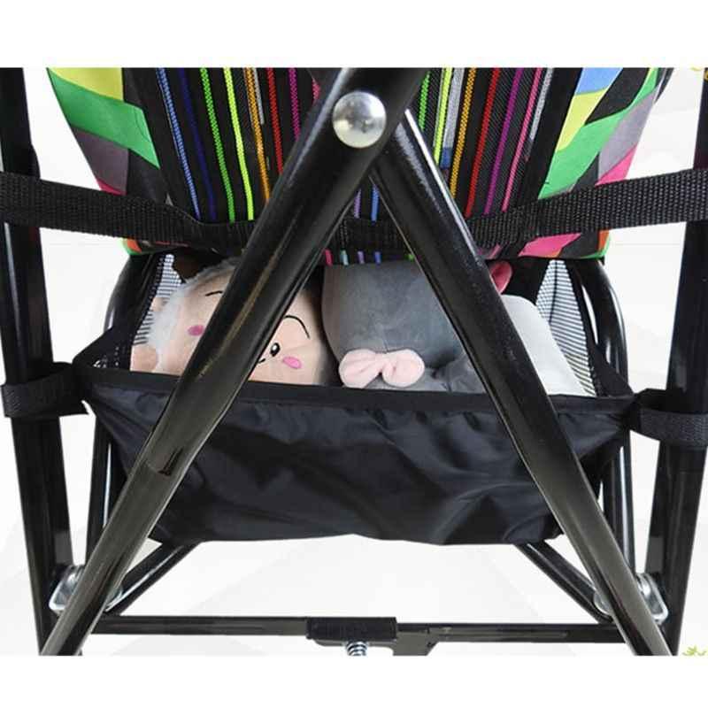 Детские Корзина для коляски Новорожденные коляска подвесная Корзина Коляска Нижняя Органайзер сумка коляска аксессуар