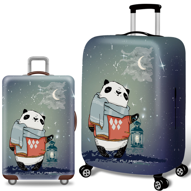 Travel Luggage Cover Elastic Trolley Case Dust Protection