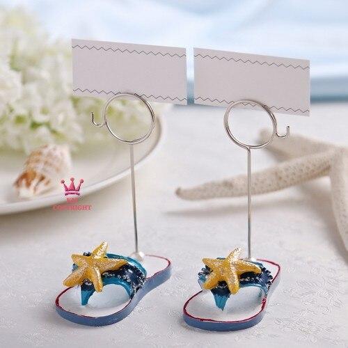 10parislot Wedding Centerpiece Starfish Beach Theme Place Card