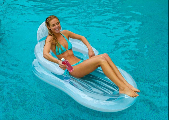 INTEX Inflatable Swimming Pool Float Raft For Adults Or Kids At Air  Mattress Swim Pool Float Funny Toys 155*97cm In Swimming Rings From Sports  ...
