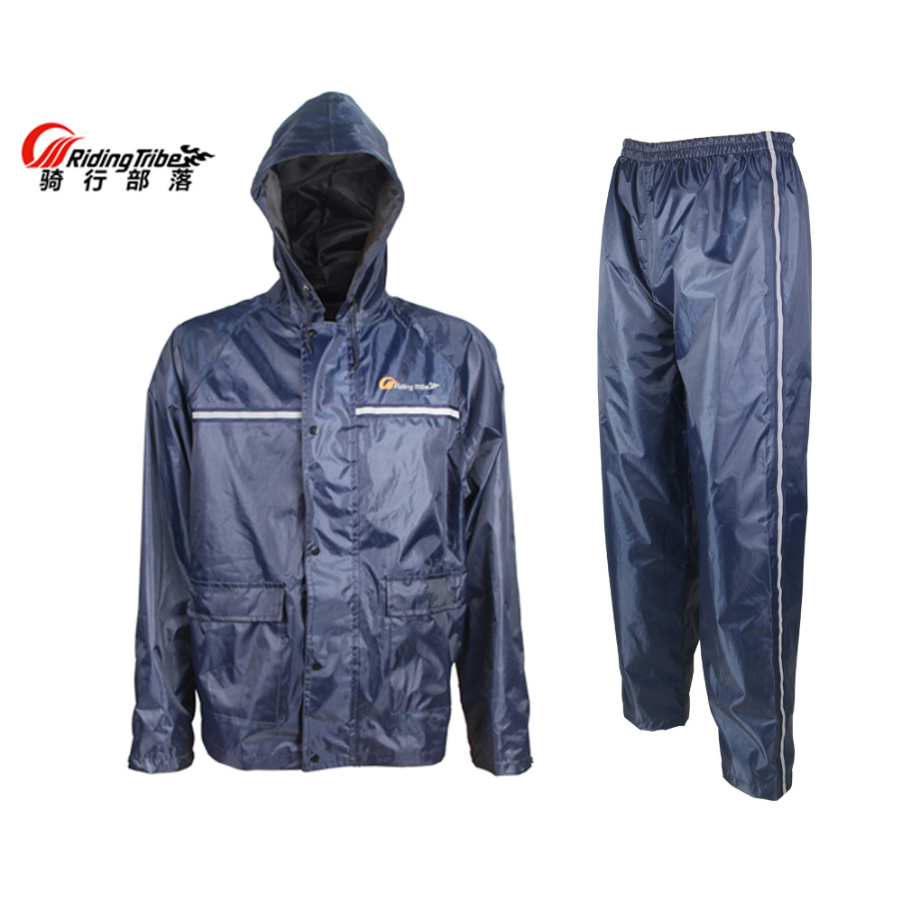 Riding Tribe Motorcycle Waterproof Rain Jackets and Rain Pants ...