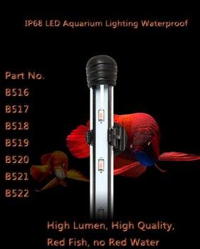Blue White RED 45cm 6W Aquarium LED Lighting Bright Submersible Lamp Light Bar Fish Tank Light Decoration Accesory AC110 -AC240V