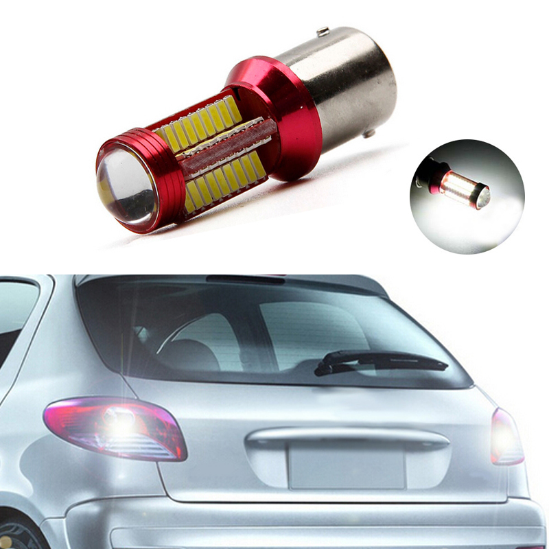 1x New White 1156 BA15S P21W <font><b>LED</b></font> Car Bulb Reverse <font><b>Light</b></font> For <font><b>peugeot</b></font> <font><b>307</b></font> 206 2008 207 308 4008 508 5008 301 image