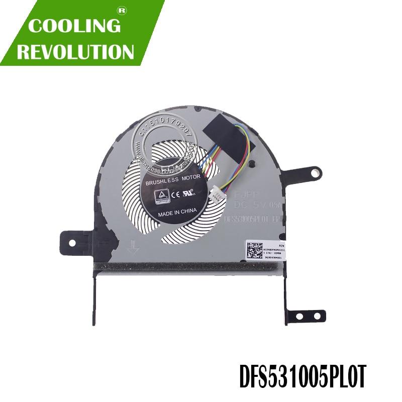 NEW CPU COOLING FAN FOR ASUS S510U X510U X510 DFS531005PL0T FJPP DC 5V 0.5A A13NB0FM0P01211 FAN