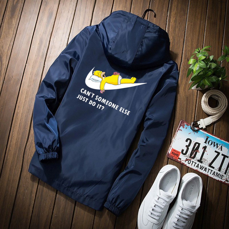 New 2019 Autumn Wind Jacket Men Thin Jackets Men Casual Lover Jacket Hip Hop Windbreaker Hooded Jacket Coat Zipper Parka Men
