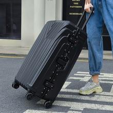 suitcase bag universal wheel carry on  luggage zipper  aluminium frame travel case Trip trolley