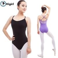 Women Short Sleeve Ballet Dancewear Ballet Dancing Purple Young Girl Ballet Practice Dance Clothes Ballet Training