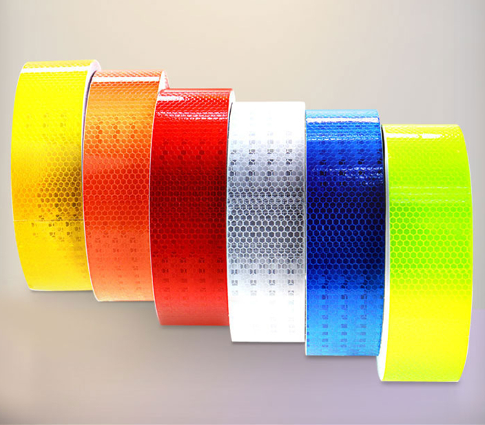 New Type 5cmx3m Car Reflective Material Tape Sticker Automobile Motorcycles Safety Warning Tape Reflective Film Car Stickers
