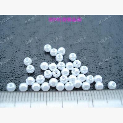 4 мм 650 шт. белый/бежевый, abs искусственный жемчуг Бусины, изготовления ювелирных изделий DIY Бусины, ювелирные колье ручной работы, жемчуг круглый для ремесел