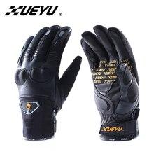 XUEYU Motorcycle Gloves Motorcycle Moto Gloves Motorbike Luva Motociclista Full Finger Luva Motociclista Racing Gloves 027