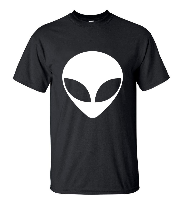 Alien T-Shirt Nuova Personalità Arrivo Alien T Shirt 2018 Estate 100% Cotone O-Collo di Alta Qualità Uomo Streetwear Top Tees S-3XL