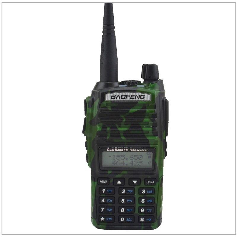 Baofeng Radio UV-82 Talkie Walkie Couleur Camouflage Double Bande VHF/UHF Ham Radio Émetteur-Récepteur Baofeng UV82 w/Livraison écouteur