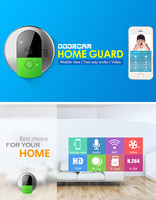Vstarcam C95 HD 720P Wireless WiFi Security IP Door Camera Night Vision Two Way Audio Wide