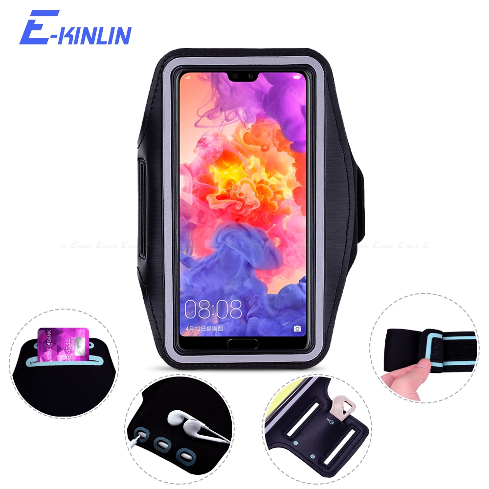 Sport Running Gym Arm Band Cover Case For HuaWei Honor View Mate 30 20 P Smart Plus P40 P30 P20 Pro Lite E 5G(China)