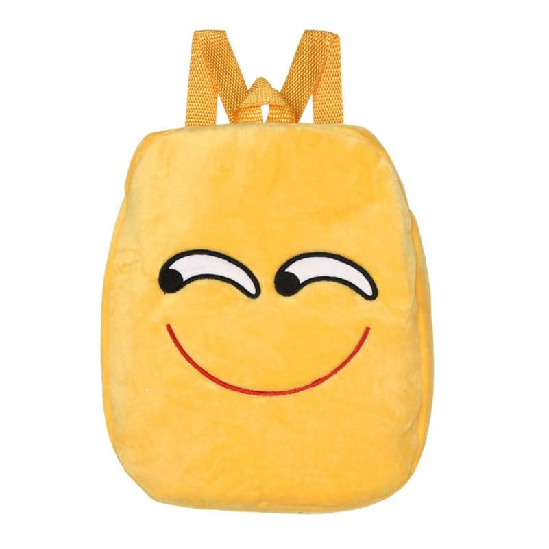 Carino Bambini Sacchetto di Scuola Emoji Emoticon mochila feminina Satchel Zaino Borse zaino rugzak Borse Moda per la Bella Ragazza A21