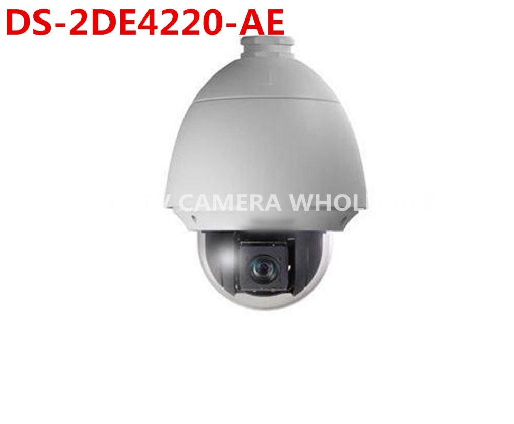 DS-2DE4220-AE International English version 20X Optical zoom 2MP Network PTZ Dome Camera POE free shipping english version ds 2de7230iw ae 2mp network cctv ptz camera poe with 30x optical zoom 150m ir ip66 h 265
