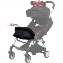 Подставка для ног, футов расширение для бамперов машин для Babyyoya подножка коляски подножка коляска детское yoya Йо-йо коляска аксессуары для подлокотников