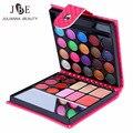 3 Caja/lote Maquillaje Paleta de Sombra de Moda Sombra de Ojos Maquillaje Sombras Con El Caso Cepillo Espejo de Cosmética Para Las Mujeres de Belleza 32 Color