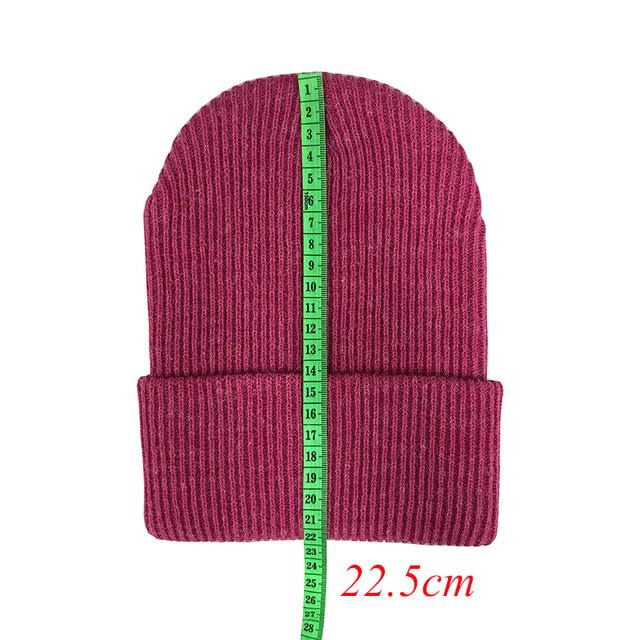 214486ecb US $3.66 15% OFF New 2019 Winter Hats for Ladies Women Crochet Knit Cap  Skullies Beanies Warm Caps Fashion Female Cute Solid Knitted Stylish Hat-in  ...