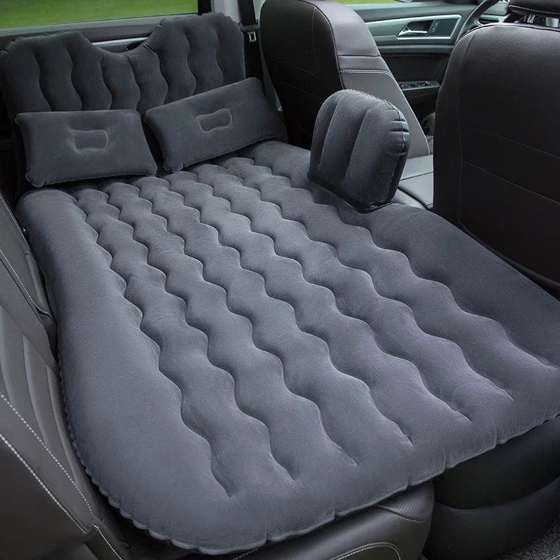 2019 High quality Top Selling Car Back Seat Cover Travel Mattress Air Inflatable Bed with pump2019 High quality Top Selling Car Back Seat Cover Travel Mattress Air Inflatable Bed with pump