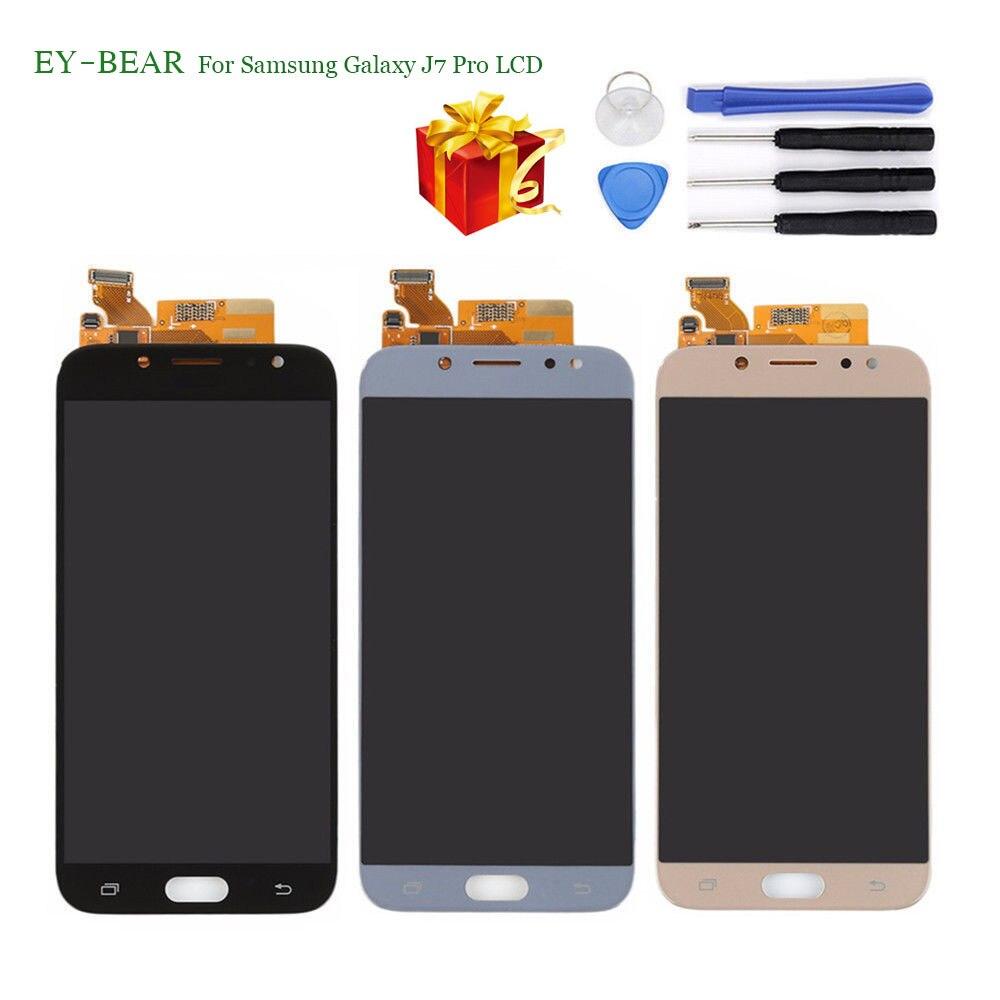 EY-BEAR pour Samsung Galaxy J7 Pro 2017 J730 SM-J730F J730FM/DS J730F/DS J730GM/DS écran LCD + écran tactile numériseur