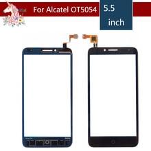 цена на 10pcs/lot For Alcatel One Touch Fierce XL 5054D 5054 OT5054 OT-5054 Touch Screen Digitizer Sensor Outer Glass Lens Panel