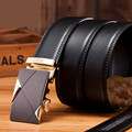 LGFD201610   160cm 140cm long Men  black formal office dress leather belt    ratchet  buckle  man made pu  leather belt