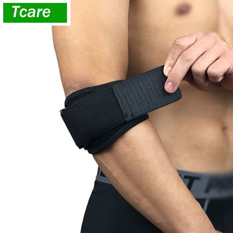 1Pcs Elbow Brace Support Strap - Tennis Golfer's Elbow Strap Band. Relieves Tendonitis And Forearm Pain Dual Layers Compression
