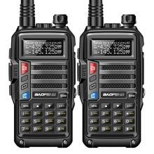 2 Pcs BaoFeng UV S9 8 W Leistungsstarke Walkie Talkie VHF/UHF136 174Mhz & 400 520 Mhz Dual Band 10 km Long Range Portable Two Way Radio